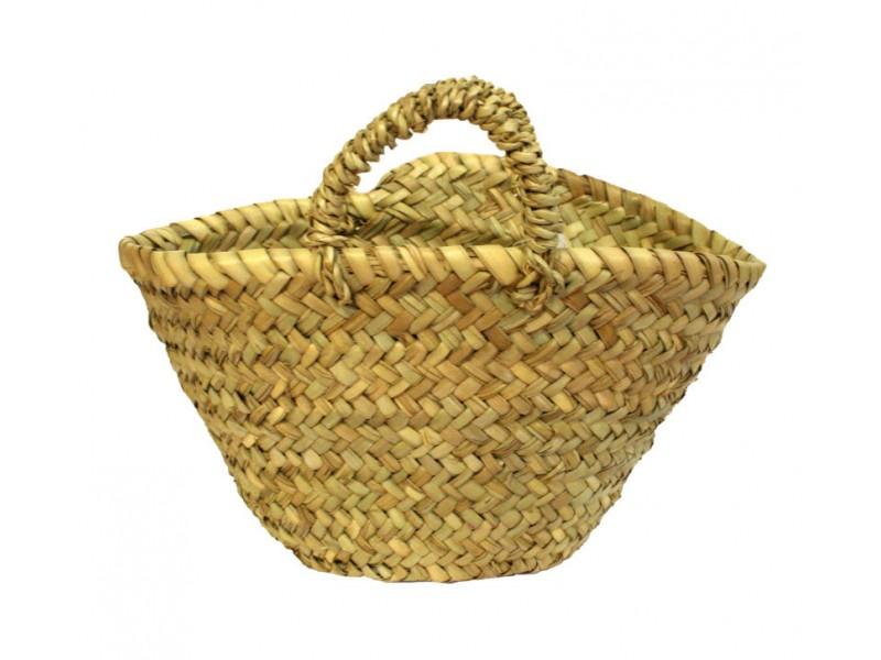 Dětský košík z palmových listů