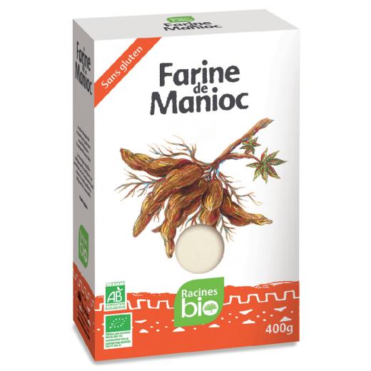 Bezlepková mouka z manioku Bio, 400 g