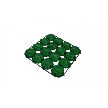 Podložka z recyklovaných víček