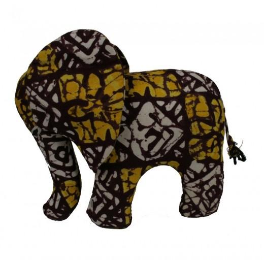 Košík, pletené vlákno z listů banánovníků