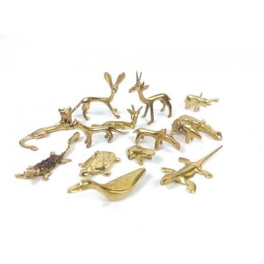 Bronzová soška - mini zvířátko
