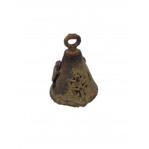 Dogonský bronzový zvoneček