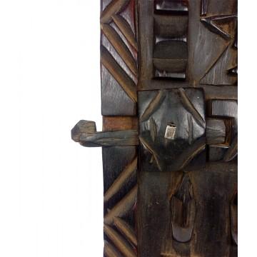 Dveře - dogonské, tropické dřevo
