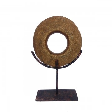 Neolitický kámen – střední s kovovým stojnákem