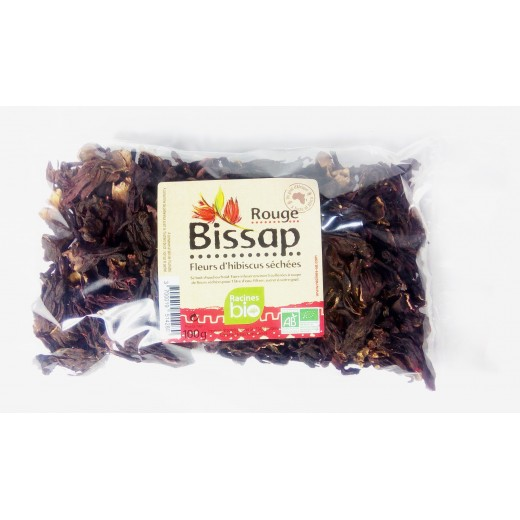 Čaj sypaný - Ibišek růžový Bio, 100g
