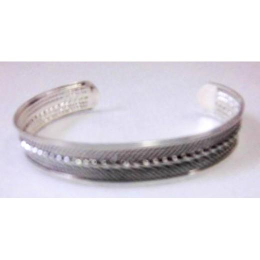 Berberský kovový náramek