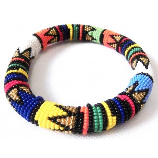 Korálkový náramek Zulu