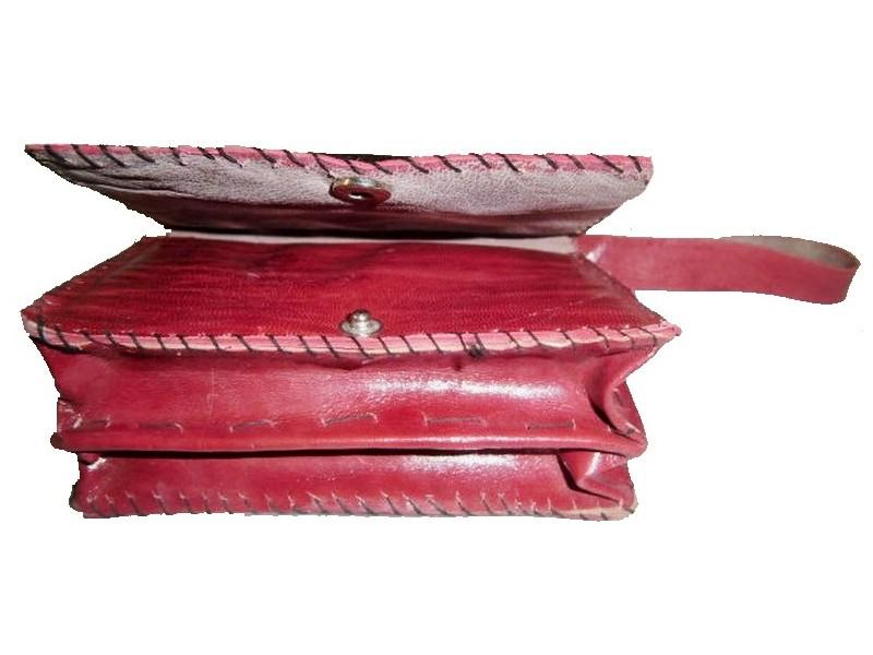 Kožená tuarežská peněženka