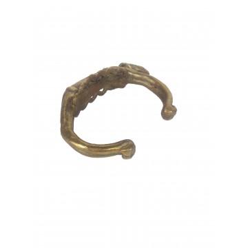 Dogonský bronzový náramek