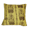 Povlak na polštář, bavlna, zapínání – zip, západní Afrika