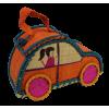 Košík svačinový pro děti / autíčko, rafie, Madagaskar.