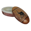 Kámen mastek – šperkovnice ovální se slonem