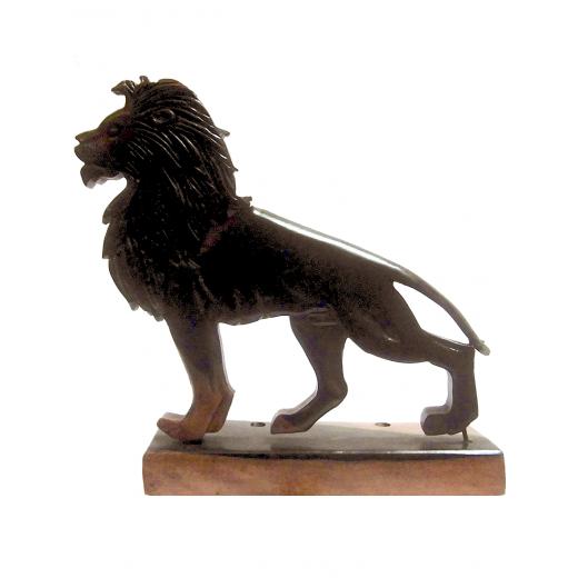 Pořadač stolní ze dřeva - lev