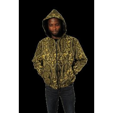 Bomber s kapucí: bez zateplení ( jární) - Unisex