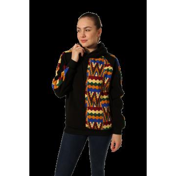 Mikina s kapucí - zimní, jarní, unisex