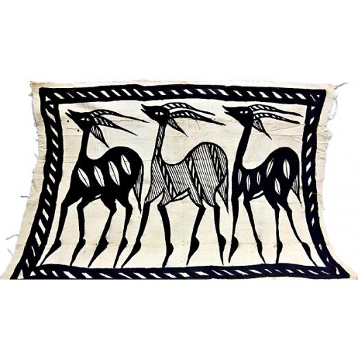 Tkanina Korhogo - nástěnná dekorace