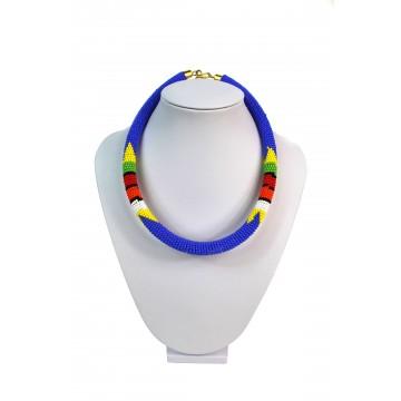 Masajský náhrdelník