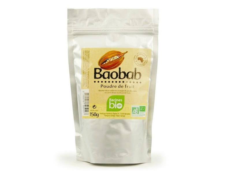 Bezlepkový prášek baobab-bio