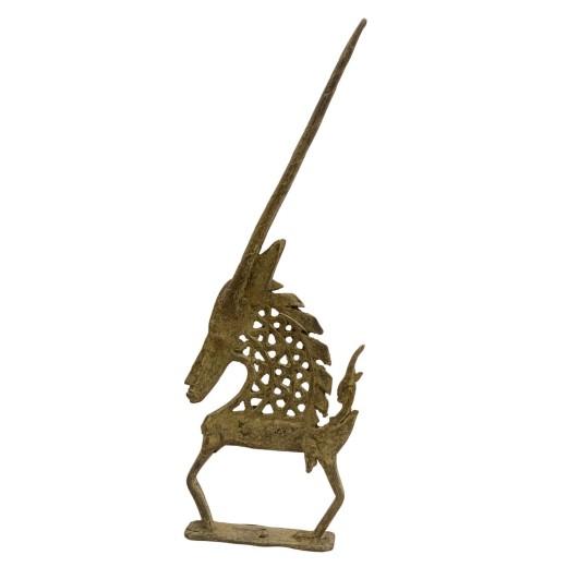 Bronzová soška Chi Wara, mužská