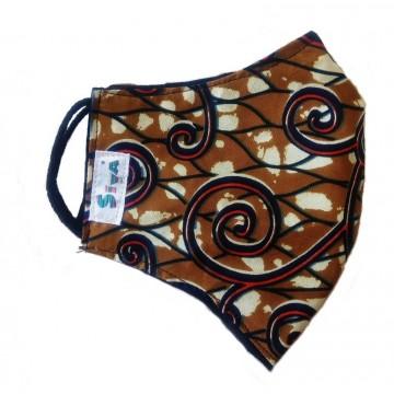 Zvětšit Bavlněná rouška dvouvrstvá s kapsou na filtr