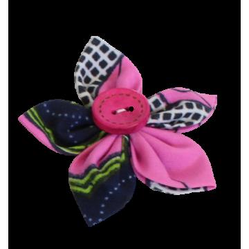Textilní brož 6 cm