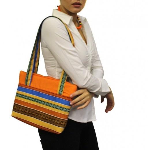 Bavlněná kabelka kente