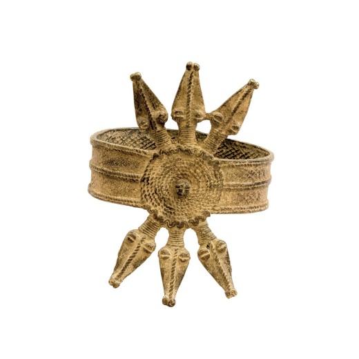 Bronzový náramek - nápažník Dekoggoro od kmene Gan