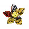 Brož z africké bavlněné látky 6 cm