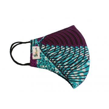 Bavlněná rouška dvouvrstvá s kapsou na filtr