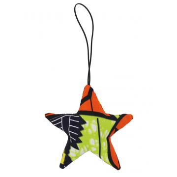 Vánoční ozdoba - hvězda, 10 cm
