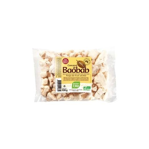 Dužnina plodu baobabu k cucání jako bonbón - BIO 100 g