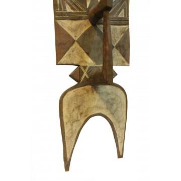 Zoomorfní desková maska Nwantantay od kmene Bwa
