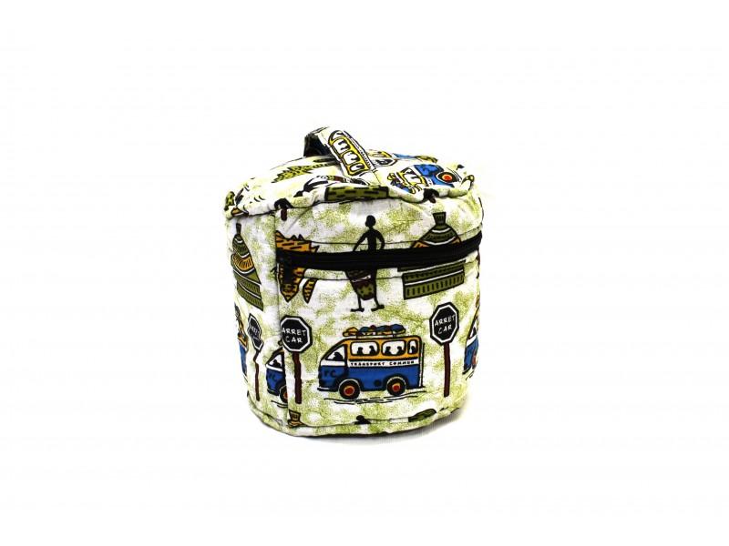 Kosmetická taštička z africké bavlněné látky