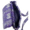 Stylová členitá taška z africké bavlněné látky