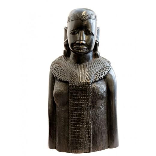 Busta Masajky, černý eben M-PŘIPRAVUJEME...momentálně neprodejné
