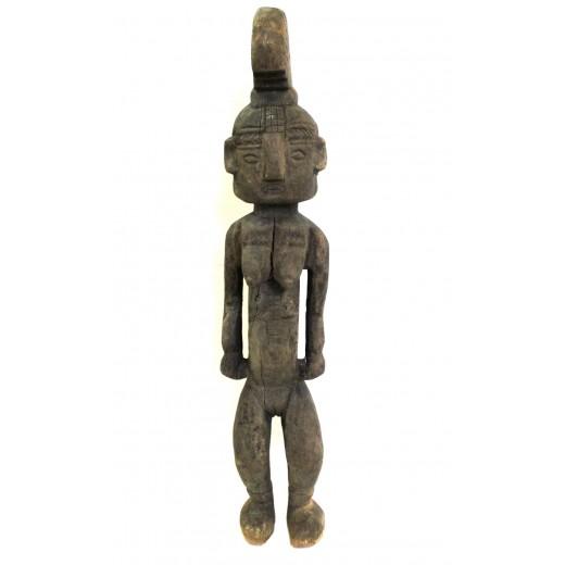 Dřevěná soška s hřebenem - Nigérie