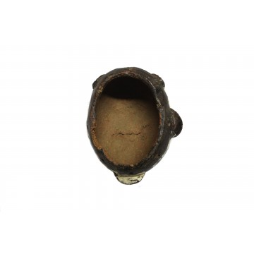 Africká pasová maska z pálené hlíny