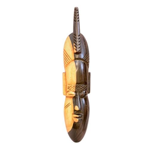 Dekorativní  maska z ebenového dřeva