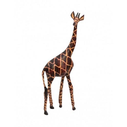 Dřevěná soška, žirafa