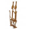Dogonská bronzová soška