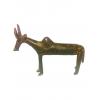 bronzová soška - zebu z Burkiny Faso