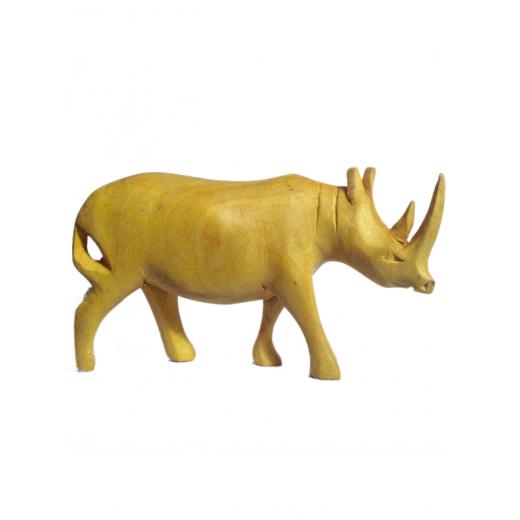 Nosorožec, tropické dřevo-přírodní  312   --PŘIPRAVUJEME...momentálně neprodejné