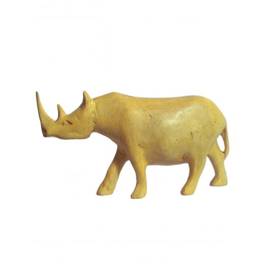 Nosorožec, tropické dřevo, přírodní odstín