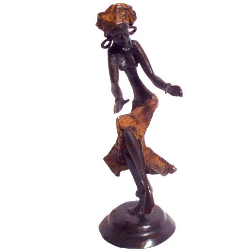 Tančící žena, bronz