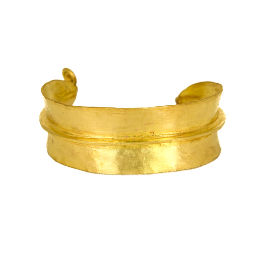 Bronzový náramek Fulani široký PŘIPRAVUJEME-MOMENTÁLNĚ NEPRODEJNÝ