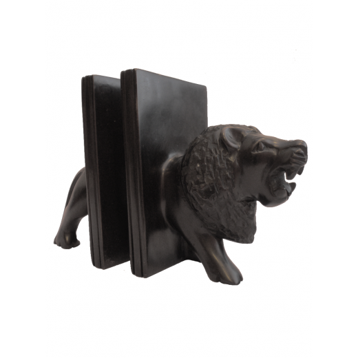 Držák na knihy Lev, z mýdlového kamene