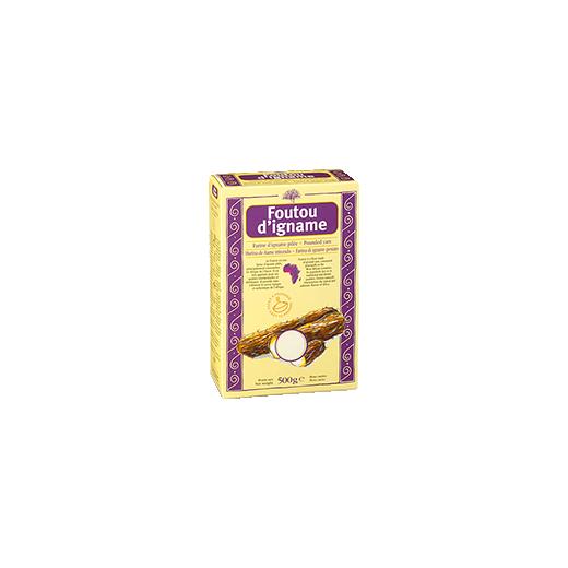 Bezlepková mouka z yamu - Foutou, 500 g